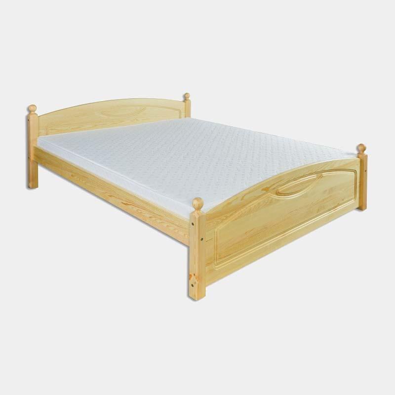Tradičná manželská posteľ z masívu