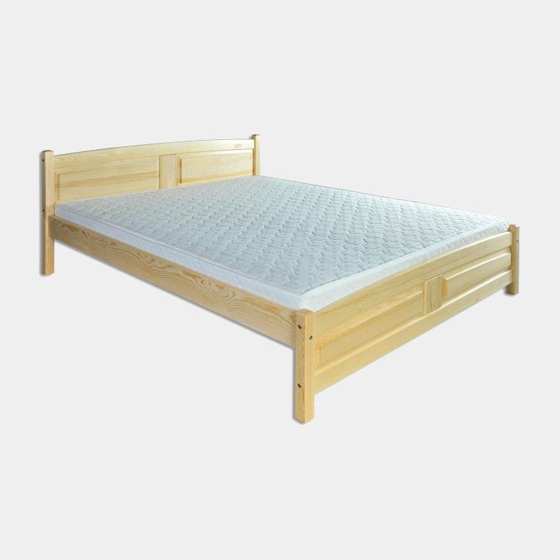 Manželská posteľ z masívu