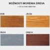 Masív - farby pre morenie dreva