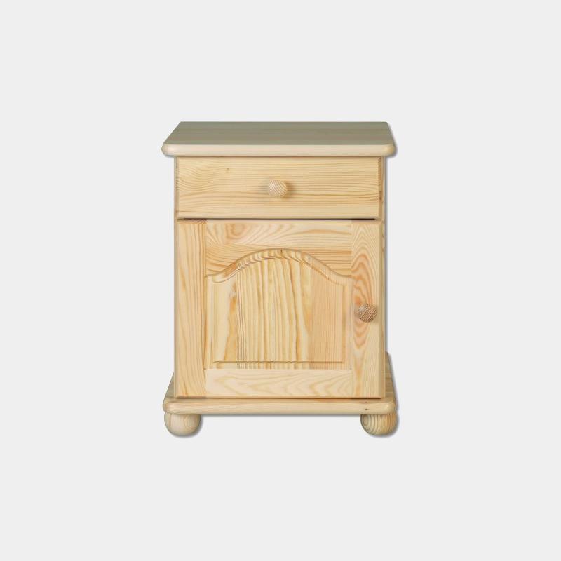 Nočný stolík z masívu