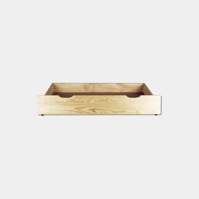 Zásuvka pod posteľ z masívu